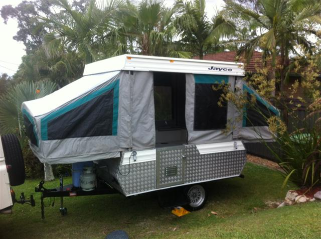 Paul And Nicky S Jayco Finch Camper Trailer Rebuild
