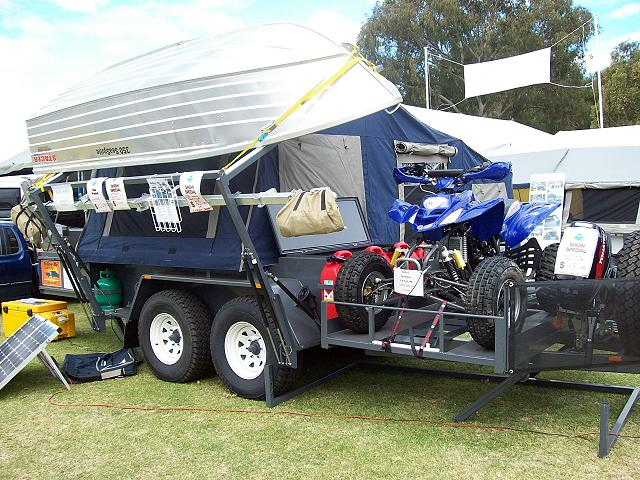 Trailer With Extended Drawbar For Quad Too Much Weight