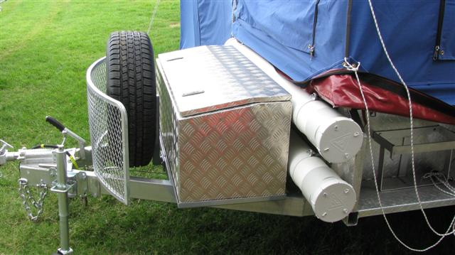 Elegant Premium Pole Carrier To Add To Your Caravan Or Camper Trailer