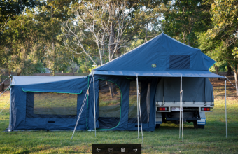 Crazy Dog Canvas Roof Top Tents