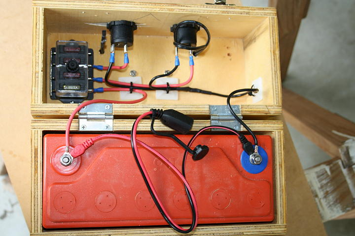 Diy 12volt Power Supply Box