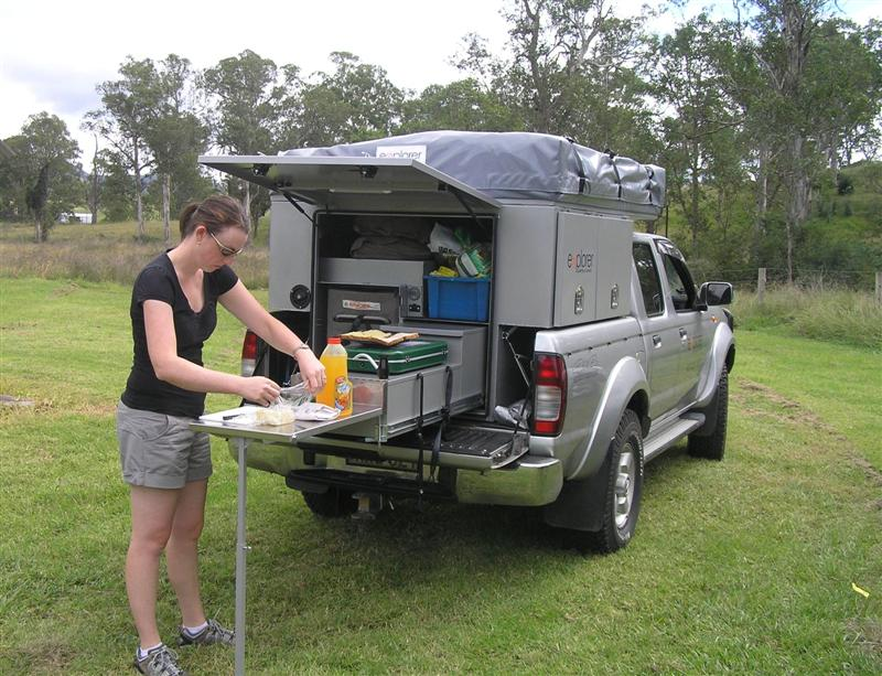 Explorer Ute Back From Explorer Campers And Canvas