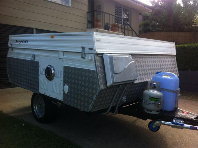 Paint Tent Trailer Amp Pop Up C Amp Er Outside
