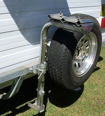 Bike Rack For Rear Of Caravan Or Camper Trailer