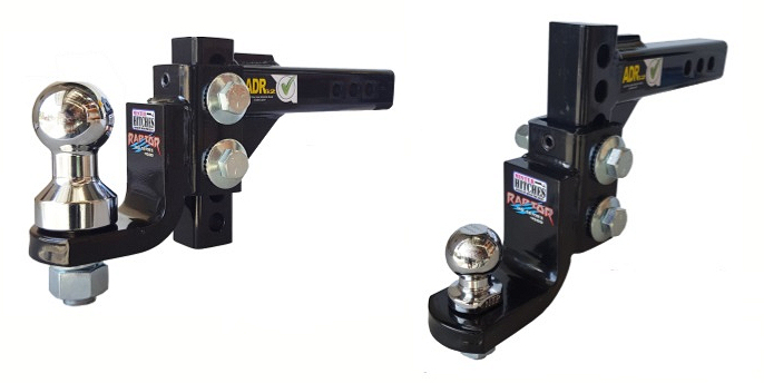 Adjustable Tow Hitch >> Raptor 4500kg Adjustable Tow Hitch