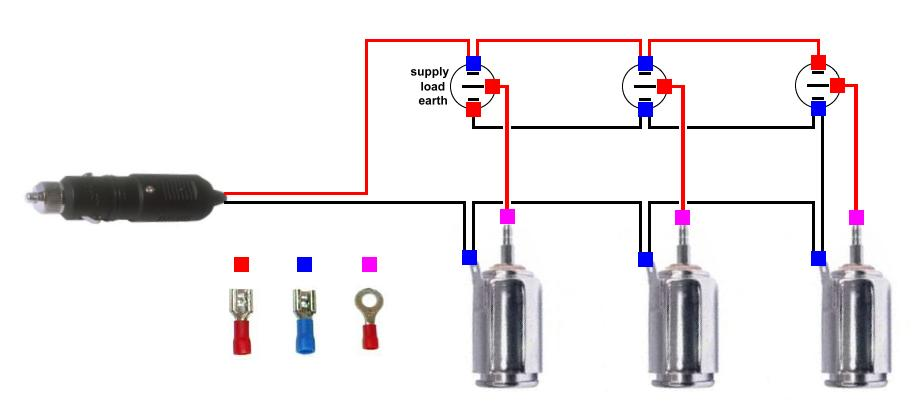 Astonishing 12V Plug Diagram Wiring Diagram Wiring 101 Ferenstreekradiomeanderfmnl