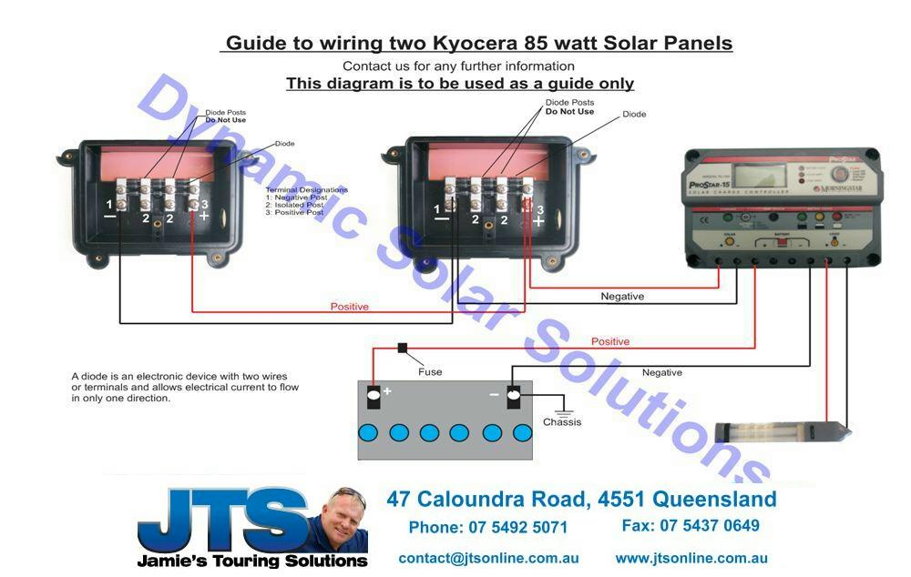 Wiring Diagram Solar Panels 12V from www.campertrailers.org