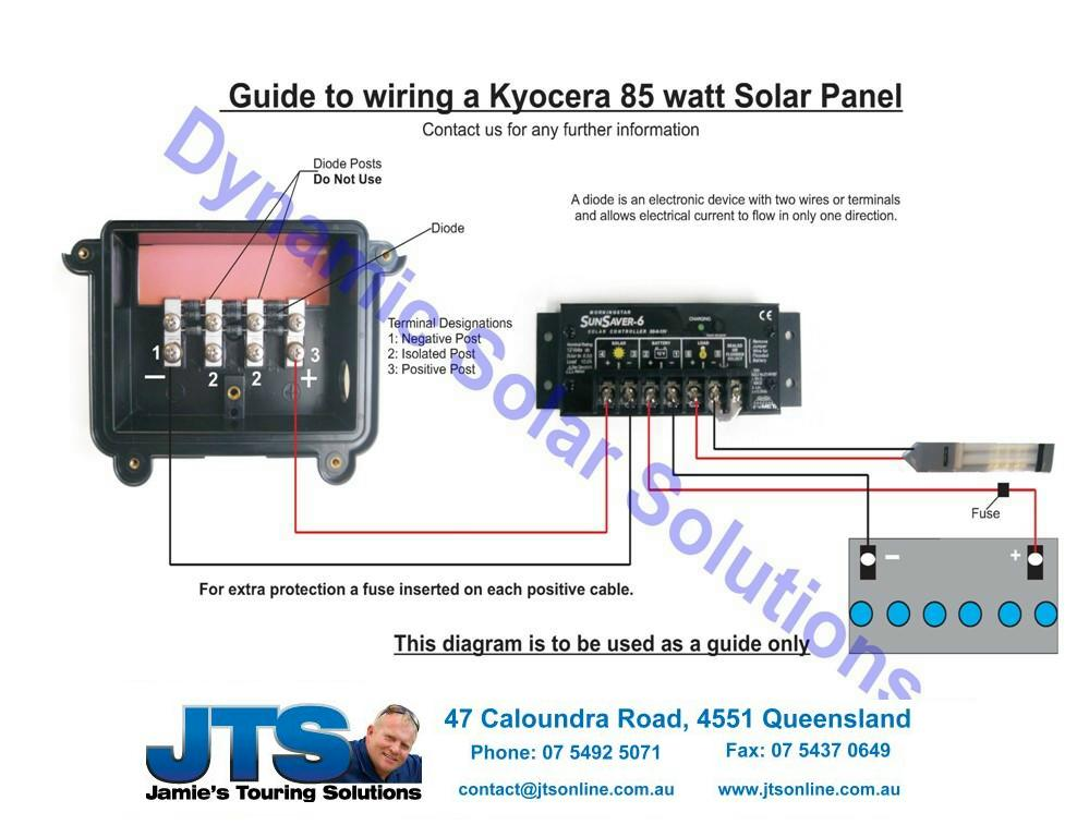 wiring kyocera85watt jamies 12 volt camper wiring diagrams solar panel diagram wiring at n-0.co